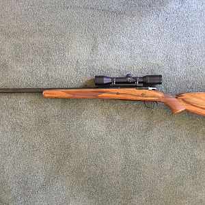 Browning Safari .338 Winchester Magnum Rifle with Zeiss 3 x 9 Scope