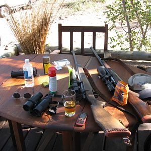 Sauer Hunting Rifle & Blaser Hunting Rifle