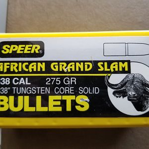 338 AGS Solids Bullets