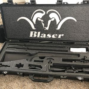 Blaser Rifle Case & Rifle