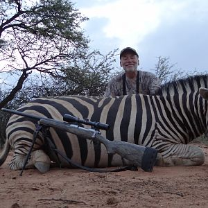 Namibia Hunt Burchell's Plain Zebra