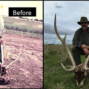 Have you ever imagine how was an axis deer  hunt in Argentina 40 years ago?