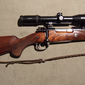DWM Mauser Gew.98 System from 1912 rifle built in the early Seventies