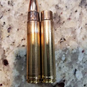 1x fired Norma compared to 3x fired and sized quality cartridge brass