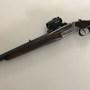 Heym 88b Double Rifle in .375 H&H from 1985