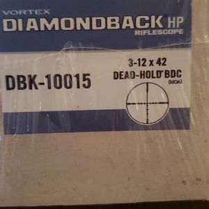 Vortex Diamaondback HP 3-12 Riflescope