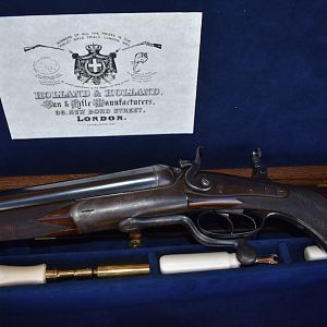 Holland and Holland 20-.577 Double Rifle