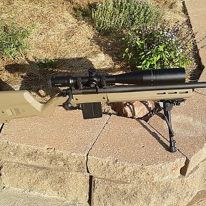 Rem 700 SPS Rifle With Magpul Hunter Stock