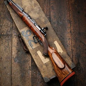 Westley Richards takedown in 318 Westley Richards Rifle