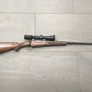 Mauser 98 Action Rifle