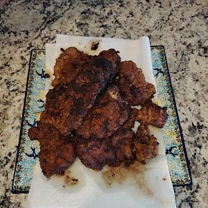 Fried Elk Steak