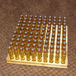 100 rounds 400 gr Speer flat nose soft point
