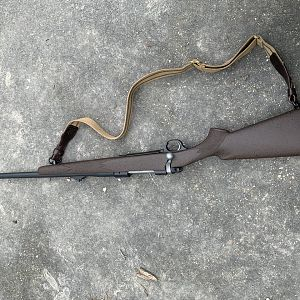 375 Ruger 77 African Rifle With McMillan