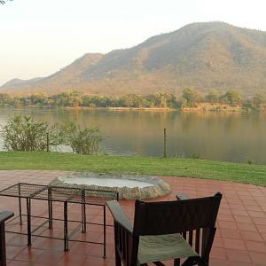 View from Lodge in Zambia