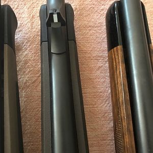 Blaser R8 - Three different stocks