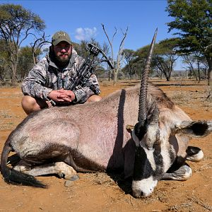 Bow Hunt Gemsbok in South Africa