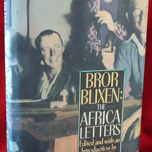 The book The Africa Letters by Bror von Blixen-Finecke