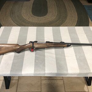 300 H&H Rifle built on a CZ550 Magnum