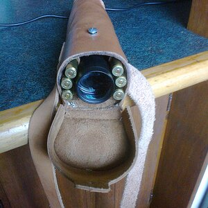 Riflescope holder