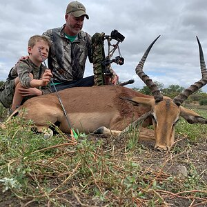 Bow Hunting Impala in South Africa
