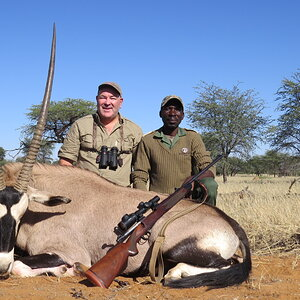 Hunting Gemsbok in South Africa