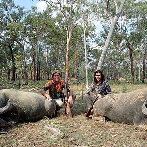Hunting Asiatic Water Buffalo in Australia