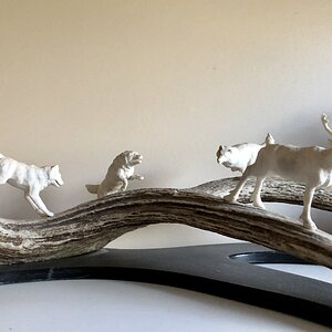Wildlife Art Sculpture