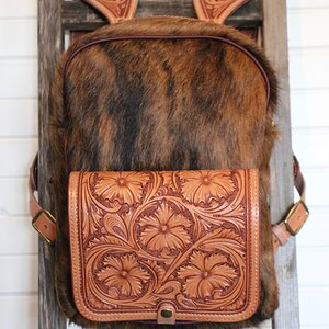 Leather & Skin Backpack