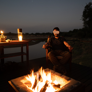 Drinks by the Luangwa River