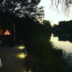 Barbecue at the Limpopo River