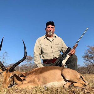 Hunt Impala in South Africa