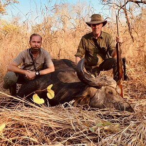 Hunting Cape Buffalo in Zambia