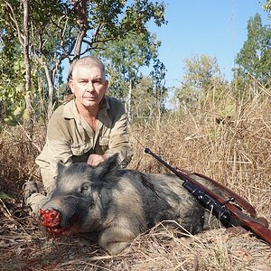 Hunting Boar in Australia