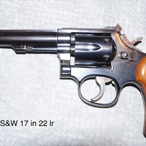 Smith & Wesson 17 in 22lr