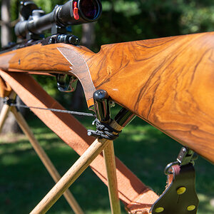Fly's Eye Shooting Stick from African Sporting Creations