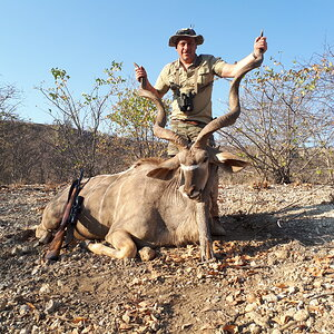 Hunt Kudu in Namibia