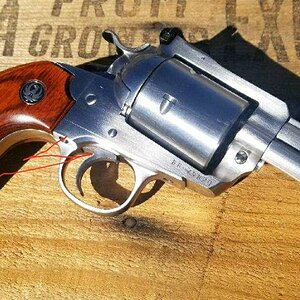 "Custom Bisley .480 with 3.5"" barrel Revolver"