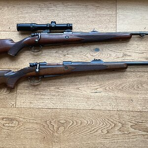 Pair of African rifles