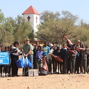 Giving back to the communities Namibia