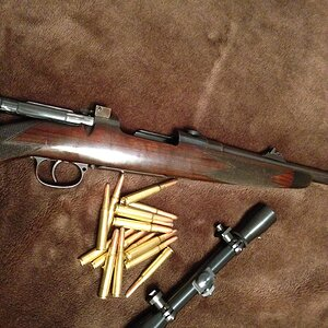 M98 1920 build by William Evans. .318 Westley Richards