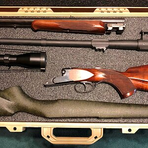 Pelican 1700 With CZ 550 300 Wby & Krieghoff ,470 NE Rifle