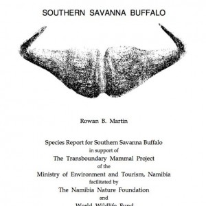 Southern Savanna Buffalo Report