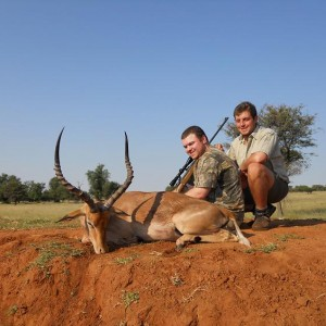 Impala hunt in South Africa with HartzView Hunting Safaris