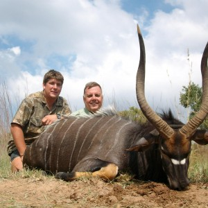 Hunting Nyala at Sadaka Safaris, South Africa, Limpopo