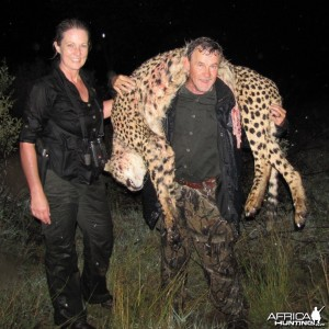 NEW WORLD RECORD HUNTED WITH CEC SAFARIS NAMIBIA APRIL 2011