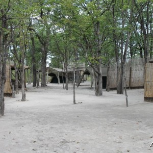Tented camp in Caprivi Namibia