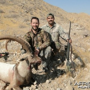 my friend Roy's Sindh Ibex taken with me in Sindh-Pakistan