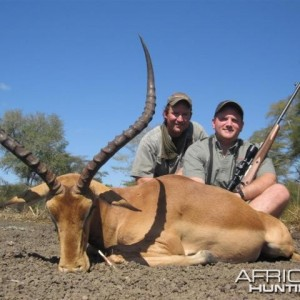 Impala Hunt in Save Valley Conservancy Zimbabwe