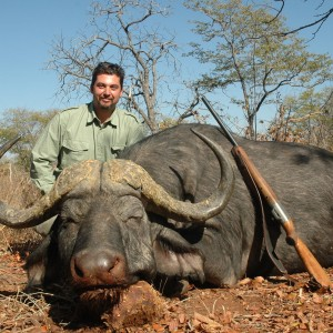 40 inch Buffalo hunted in Zimbabwe