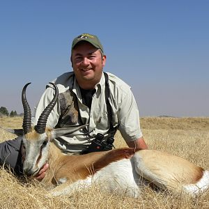 Springbok Hunt at Mabula Pro Safaris